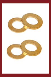 Machined Washers In Brass Stainless Steel Copper